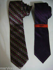 100% AUTHENTIC MISSONI for TARGET MEN'S NECKWEAR TIE MULTICOLORED ZIG ZAG SILK