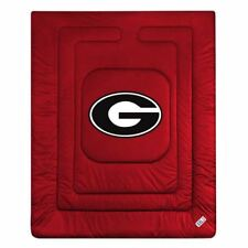 Georgia Bulldogs Locker Room Quilted Bed Comforter