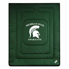Michigan State Spartans Locker Room Quilted Bed Comforter