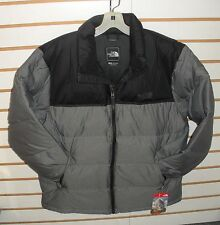 THE NORTH FACE MENS NUPTSE DOWN JACKET-# C759-MEDIUM GREY HEATHER-  L,XL. XXL