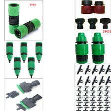 7 Types Garden Tap Water Hose Pipe Connectors Quick Connect Adapter Fit Watering