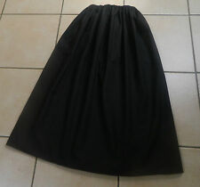 GIRLS/LADIES BLACK VICTORIAN/EDWARDIAN STYLE SKIRT, SUFFRAGETTE