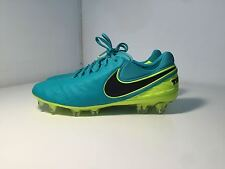 Nike Tiempo Legend Ramos Soccer Cleats Pro Mens Footbal Boots Shoes Turquoise