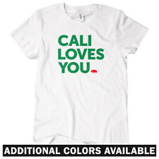 California Loves You Women's T-shirt S-2X - Cali Los Angeles San Diego Francisco