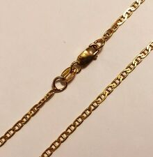 "14k solid yellow gold(2mm)Anchor chain(up to 32""inch)"