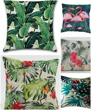 """New OUTDOOR Palm Tree Leaves Green Palms Deck Porch Complete Pillow Patio 18"""""""
