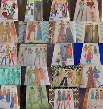 U PICK SEWING PATTERNS 1960S 1970S -CURRENT MORE THAN PICS