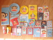 Paul Frank Julius Monkey Birthday Party Plates Napkin Banner Cups Stickers Card