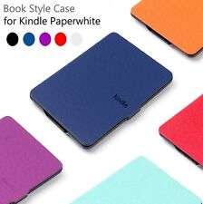 PU Leather Smart Magnetic Case Cover For Kindle Paperwhite + Screen Protector
