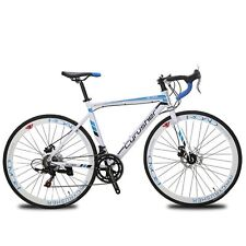 US Unisex Racing Bike 52cm 14 Speeds Shimano Man Road Bike 700C Road Bicycle