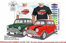 CLASSIC 69-80 MINI COOPER ILLUSTRATED T-SHIRT MUSCLE RETRO SPORTS CAR