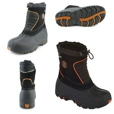 Boy's Totes Liam II Snow Boots, 11, 12, 13, 1, 2, 3  or 5, Black & Red, New $70