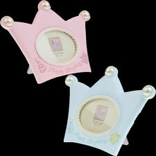 Cartoon Lovely Crown Kids Birthday Favors Baby Boy Girl Mini Photo Picture Frame