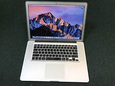  MacBook Pro 15 in. i7 Quad Core 2GHz UP to 16GB UP to 1TB SSD ~ POWERFUL!