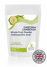Garcinia Cambogia Fruit Powder 500mg 30/60/90/120/180 Capsules Supplements