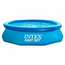 Intex 10′ x 30″ Swimming Pool Easy Set Above Ground Inflatable Swimming Pool