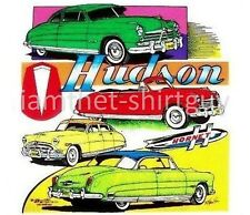 1951 1952 1953 1954 HUDSON HORNET TWIN H-POWER CAR T-SHIRT TB171