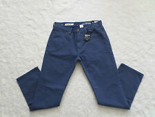 GAP 1969 JEANS MENS SLIM SIZE 30X32 DENIM- WASHED FINE WALE ZIP FLY NEW WITH TAG