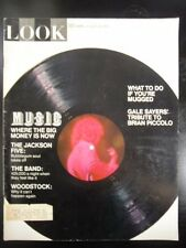 LOOK Magazine 1970 aug 25 THE JACKSON FIVE: BUBBLEGUM SOUL TAKES OFF, MICHAEL