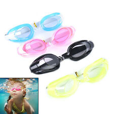 Kids Swimming Goggles Pool Beach Sea Swim Glasses Children Ear Plug Nose Clip EC