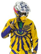 Troy Lee Designs Yellow-Purple 2013 GP Cyclops MX Jersey