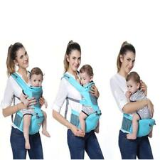 Adjustable Infant Baby Sling Carrier Backpack Breathable Ergonomic Wrap Backpack