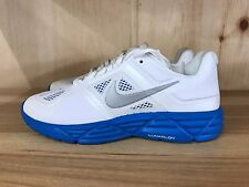 NIKE WOMENS LUNAR SWEET VICTORY WHITE SILVER BLUE CONDITIONAL SZ 6 429787-104