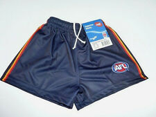 AFL ADELAIDE CROWS ADULTS FOOTY SHORTS - BRAND NEW