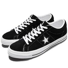 Converse One Star Black White Suede Men Skate Boarding Shoes Sneakers 158369C