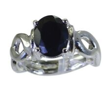 Black Oynx 925 sterling silver Ring L-1.2in comely Black wholesale AU K,M,O,Q