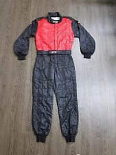 STR Club Race Suit Triple Layer FIA Approved 8856-2000 Black/Red Size XL EU58