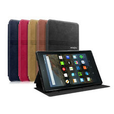 Magnetic Thin Leather Case Cover For Amazon Kindle Fire HD 8 2017 7th Gen