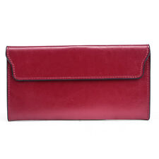 Fashion Genuine Leather Lady Wallet Long Purse multiple Card Holder Clutch Bags