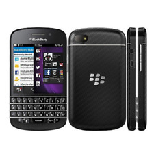 Original BlackBerry Q10 16GB Unlocked Smartphone Black White Excellent Condition