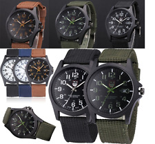 Mens XINEW Quartz Outdoor Military Army Casual Sports Stainless Steel Watch