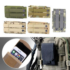 Universal Outdoor Army Military Tactical Bag Cell Phone Belt Loop Hook Case New