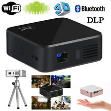 HD Portable Home Theater Multimedia DLP Projector WIFI Smart Android Projector