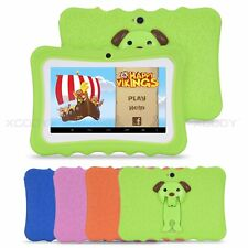 7'' Android 4.4 Quad Core Kids Tablet PC 8GB Dual Camera WiFi Child Children HD