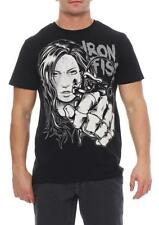 Iron Fist men's T-shirt Short sleeve shirt shirt pink