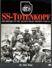 """CHRIS MANN - SS Totenkopf: The HIstory of the """"Death's ** Like New - Mint **"""