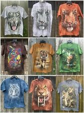 NEW The Mountain Hippo Head Adult T-Shirt 100% Cotton--Clearance