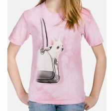 My Little Chihuahua T-Shirt / 3D Illusion Teacup Chihuahua, Pink Kids T-Shirt
