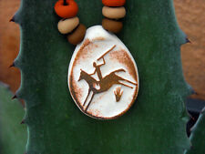 ~SPIRIT HORSE~ Native American Indian Style Handmade Pendant with Beads made USA