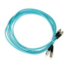 10/16ft FC-FC 10 Gigabit Duplex 50/125 Multimode Fiber Optical Patch Cable