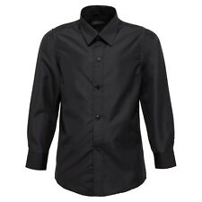 Boys and Baby Black Button Up Formal Shirts l Weddings l SUITLAB (00 -17)
