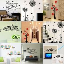 New Vinyl Home Room Decor Art Quote Wall Decal Stickers Bedroom Removable DIY SU