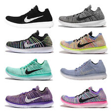 Nike Wmns Free RN Flyknit Run Womens Running Shoes Trainers NWOB
