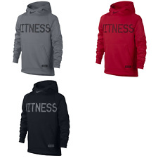 "New Nike Boys' ""Witness"" LeBron Therma Pullover Hoodie Sizes S, M, L, and XL"