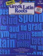 TRISHA CALLELLA - More Greek and Latin Roots Gr. 4-8 ** Very Good Condition **