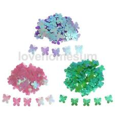 100pcs Butterfly DIY Baby Shower Table Scatter Home Room Wall Decorations